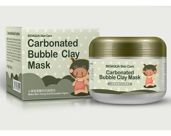 Очищающая пузырьковая маска BioAqua Bubble Clay Mask