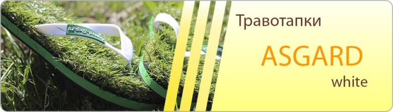 Сланцы из травы, травотапки, вьетнамки, травяные тапочки Asgard