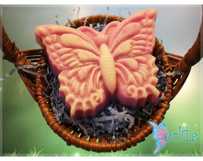 """Мыло ручной работы """"Бабочка Eclite"""", в корзине"""
