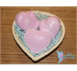 """Подарочный набор мыла ручной работы """"Теплая любовь"""""""