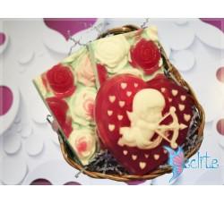 """Подарочный набор мыла ручной работы """"Святой Валентин"""""""