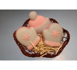 """Подарочный набор мыла ручной работы """"Теплая зима"""""""