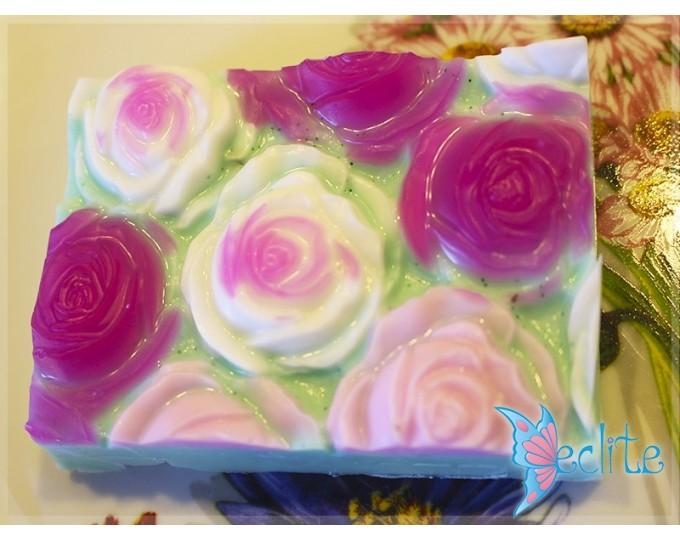 """Развесное мыло ручной работы """"Розы"""""""